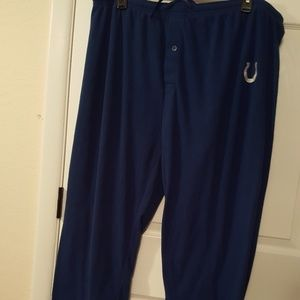 NFL Team Colts Apparel Mens Fleece Pants